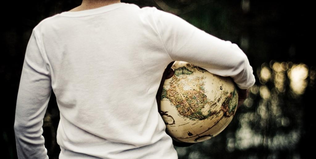 woman-earth-globe