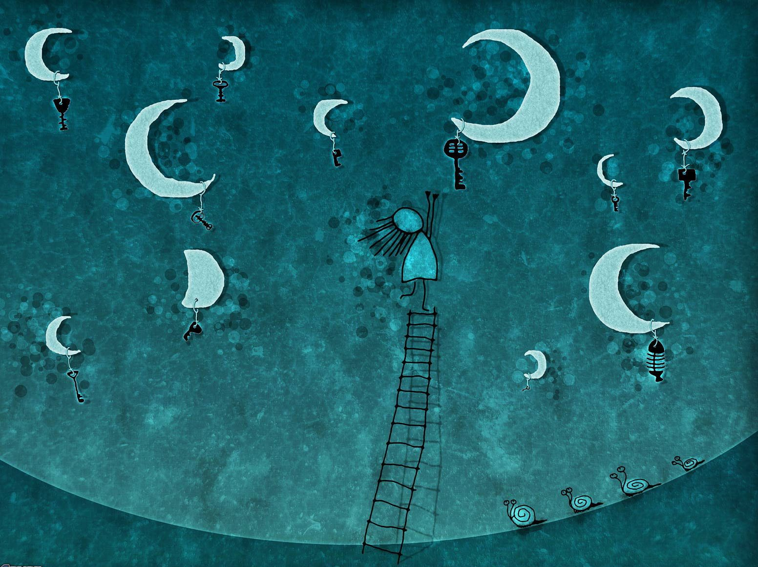 luna disegno